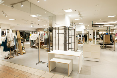 Pao de lo 京都高島屋 店舗内装工事展示会・イベントブース