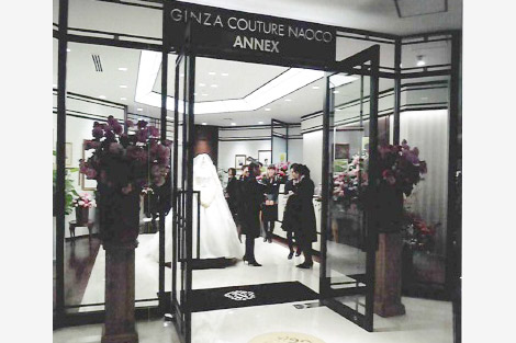 GINZA COUTURE NAOCO 銀座ANNEX店 店舗内装工事