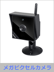 メガピクセル防水暗視キューブ型ネットワークカメラ (IP8336W)
