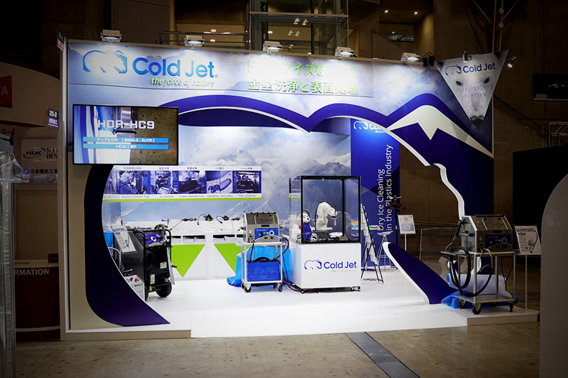 Cold Jet Technologies展示会・イベントブース