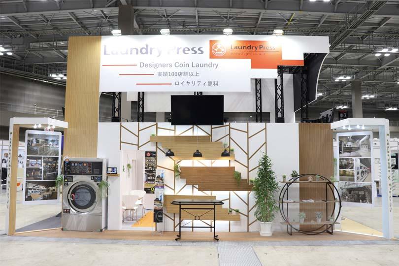 株式会社Laundry Press(ランドリープレス)展示会・イベントブース装飾画像